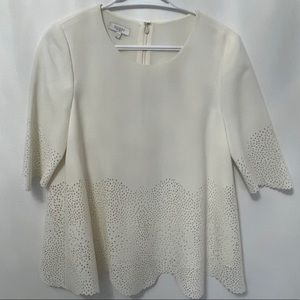 Hobbs White Blouse